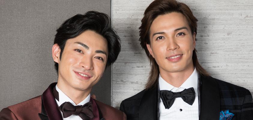 廣瀬友祐さん(写真右)と木村達成さん(写真左)=撮影・岩村美佳