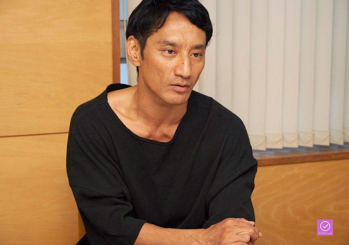 谷田歩さん、アイデアニュース・プレゼント用写真=撮影・NORI