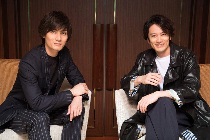 加藤和樹さん(左)と小西遼生さん(右)=撮影・岩村美佳