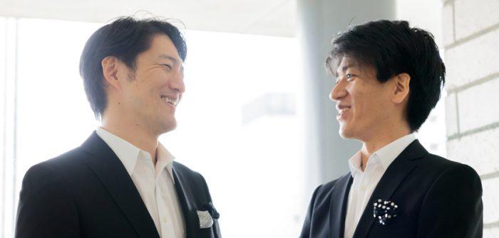 宮原浩暢さん(写真左)と佐賀龍彦さん(写真右)=撮影・山本尚侍