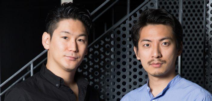小野田龍之介さん(写真左)と上山竜治さん(写真右)=撮影・岩村美佳
