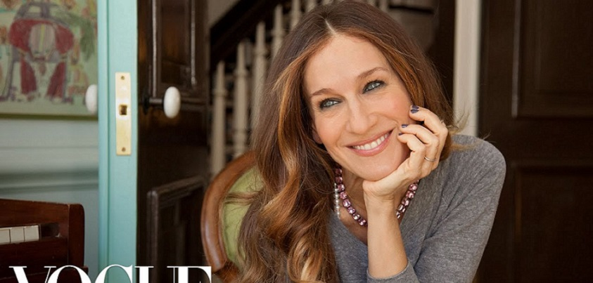 YouTubeの73 Questions with Sarah Jessica Parker=Vogue チャンネルより