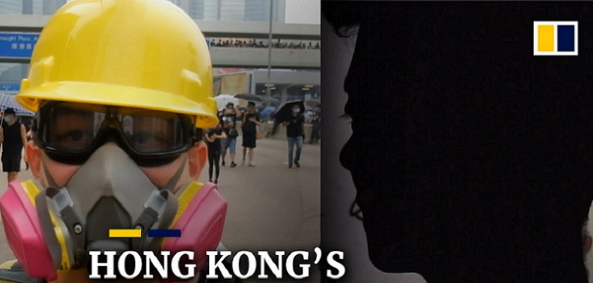 YouTubeの'I had to do something': Overseas protesters join Hong Kong's demonstrations= South China Morning Postチャンネルより