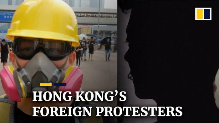 YouTubeの'I had to do something': Overseas protesters join Hong Kong's demonstrations= South China Morning Post チャンネルより