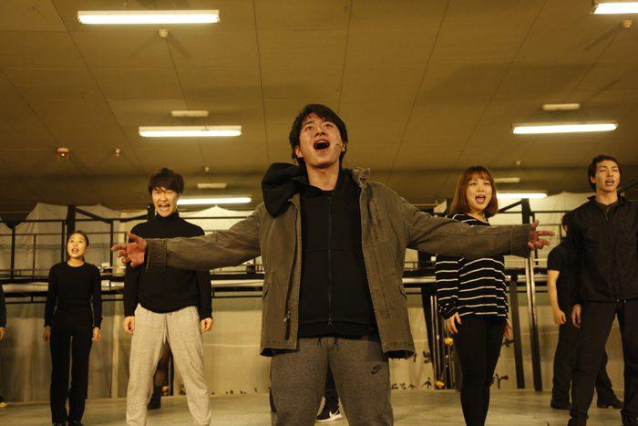 『デスノートTHE MUSICAL』歌唱披露より=撮影:渡部孝弘