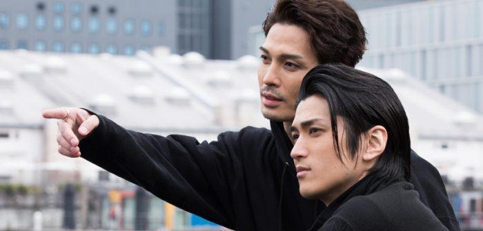 渡辺大輔さん(右)と廣瀬友祐さん(左)=撮影・岩村美佳