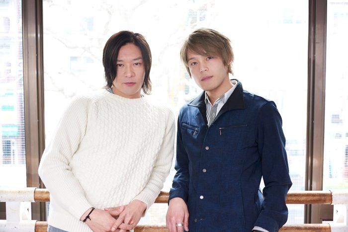 東山義久さん(左)と中塚皓平さん(右)=撮影・NORI