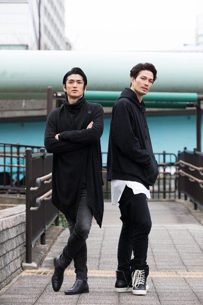 渡辺大輔さん(左)と廣瀬友祐さん(右)=撮影・岩村美佳