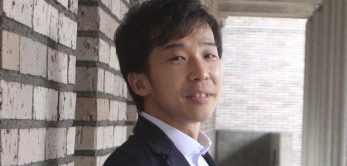 横田裕久さん=撮影・中田ゆりな