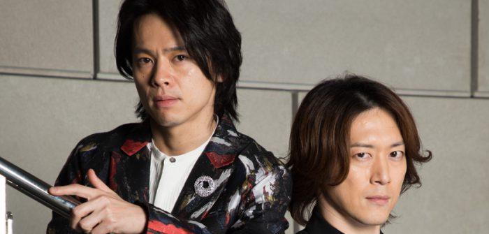 中川晃教さん(左)と宮尾俊太郎さん(右)=撮影・岩村美佳