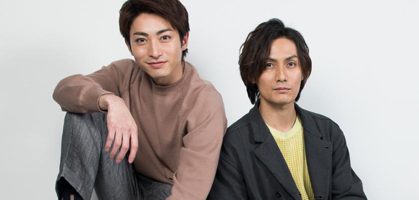 加藤和樹さん(右)と木村達成さん(左)=撮影・岩村美佳