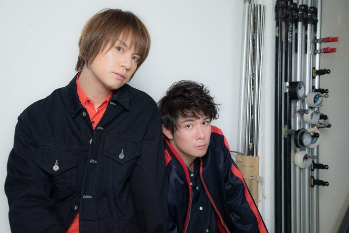 浦井健治さん(左)と柿澤勇人さん(右)=撮影・岩村美佳