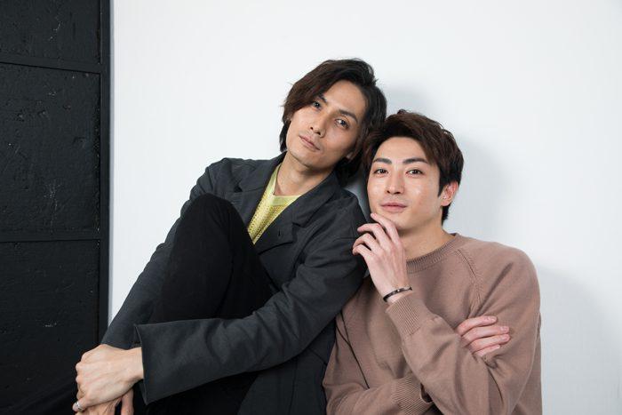 加藤和樹さん(左)と木村達成さん(右)=撮影・岩村美佳