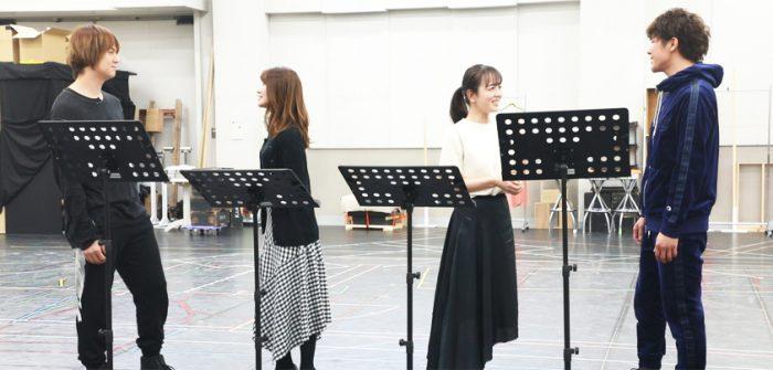 ブロードウェイ・ミュージカル『ウエスト・サイド・ストーリー』日本キャスト版 Season3の稽古より=撮影・岩村美佳