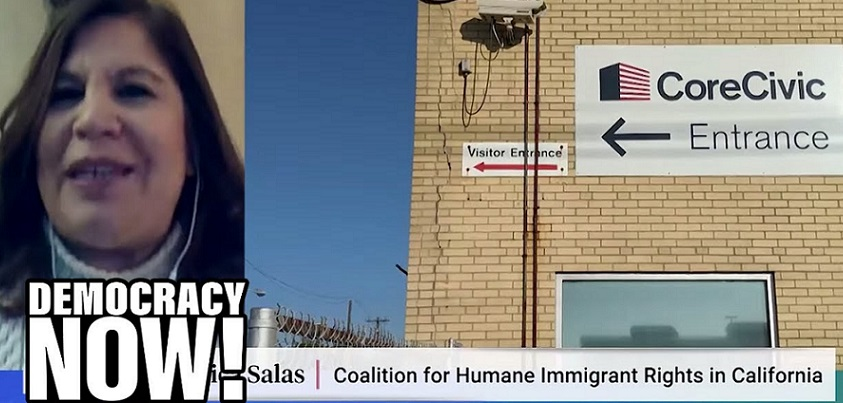YouTubeのWhy undocumented immigrants should have access to COVID-19 testing Democracy Now!チャンネルより