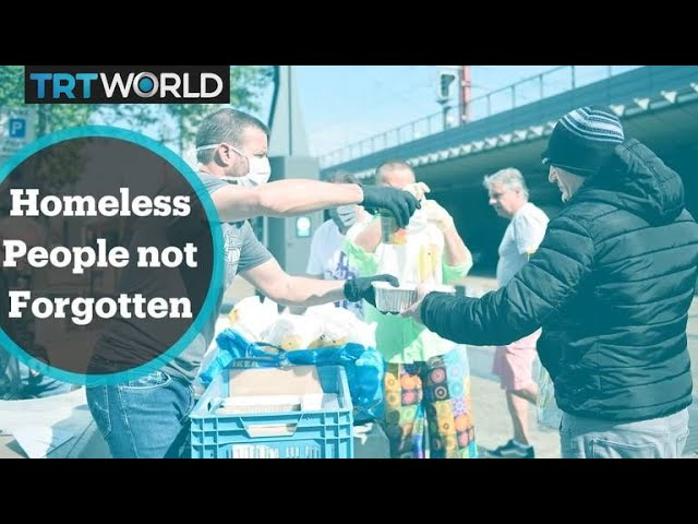 YouTubeのHomeless people around the world not forgotten during Covid-19 crisis  TRT Worldチャンネルより