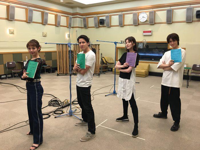 NHK-FM 青春アドベンチャー『悠久のアンダルス』出演者のみなさん=写真提供・NHK