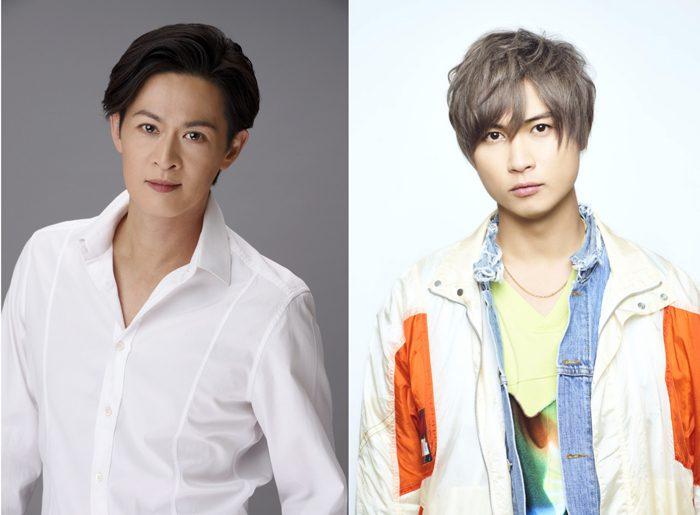 A.B.C-Z 橋本良亮さん(右)と新納慎也さん(左)