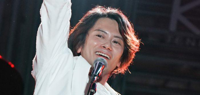 小西遼生 Broadcasting LIVE 『MUSEUM vol.2 -FLOWERS-』より=撮影・岩村美佳