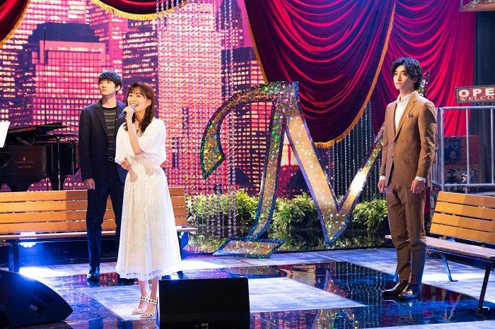 (左から)小関裕太さん、生田絵梨花さん、木村達成さん