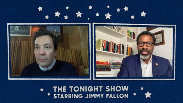 YouTubeのJimmy Addresses Past Mistakes and Speaks to NAACP President Derrick Johnson The Tonight Show Starring Jimmy Fallon チャンネルより