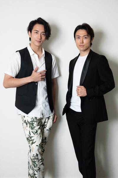 大貫勇輔さん(左)と永野亮比己さん(右)=撮影・岩村美佳