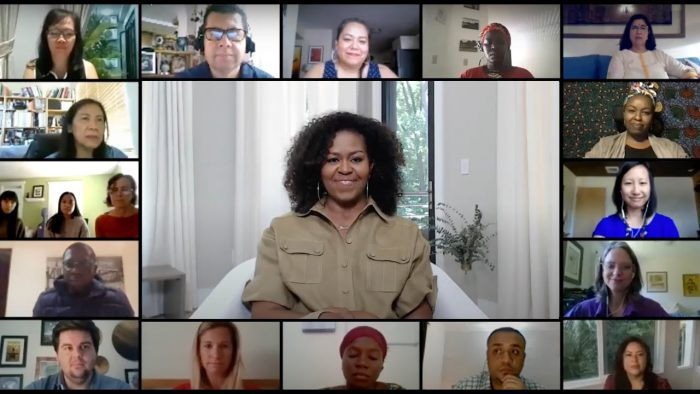 YouTubeのMichelle Obama and Girls Opportunity Alliance leaders discuss the current state of girls' education  Obama Foundationチャンネルより