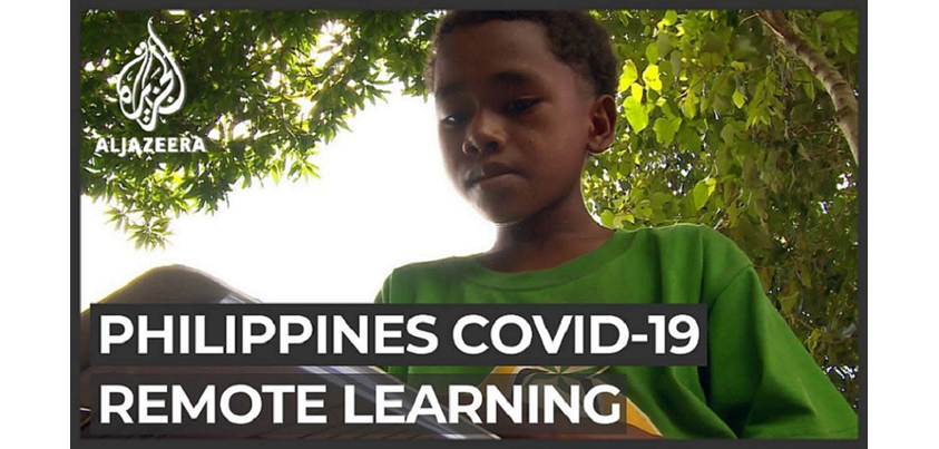 COVID-19 Philippine schools struggle to educate poor children Al Jazeera Englishチャンネルより