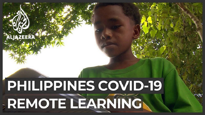 COVID-19 Philippine schools struggle to educate poor children Al Jazeera Englishチャンネルより