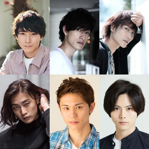 (上段左から)朝田淳弥さん、磯野大さん、栗田学武さん、(下段左から)橋本全一さん、武藤賢人さん、大崎捺希さん