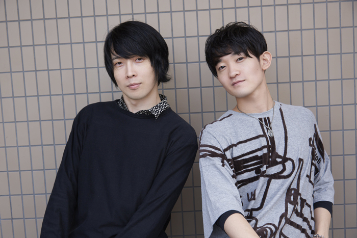 岡崎大樹さん(左)と石川新太さん(右)=撮影・NORI
