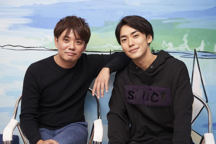 藤岡正明さん(左)と内海啓貴さん(右)=撮影・NORI