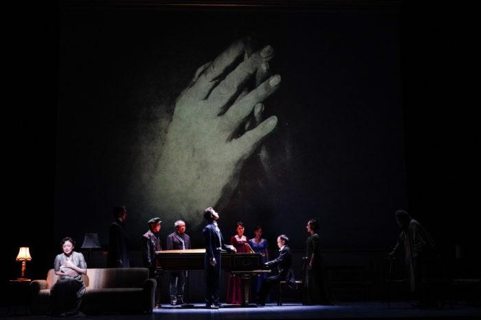 舞台『Op.110ベートーヴェン「不滅の恋人」への手紙』より