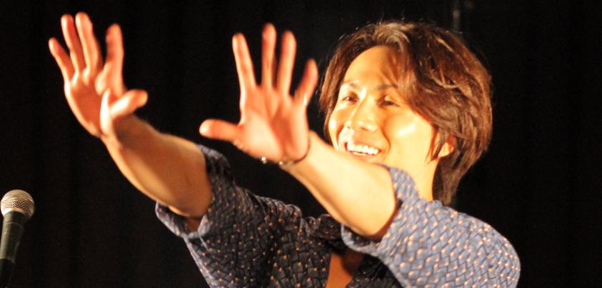 『Kazuki Kato ~Thank you for coming! 2~ 』神戸公演より=撮影・橋本正人