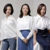 (左から)壮一帆さん、彩乃かなみさん、愛加あゆさん