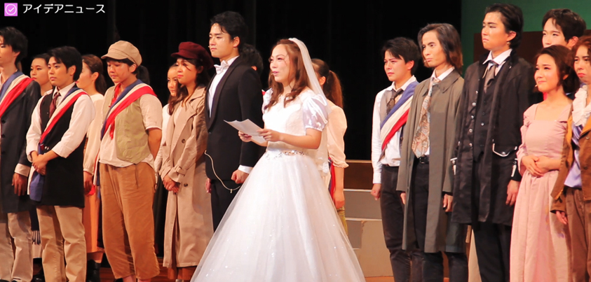 「みーあキャット」第4回公演『Les Misérables』より=撮影・橋本正人