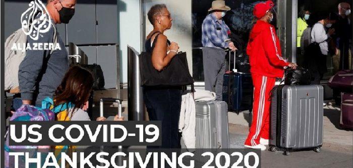 A very COVIC Thanksgiving : US travelers defy warnings  Al Jazeera English チャンネルより