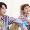 安西慎太郎さん(左)と百名ヒロキさん(右)=撮影・岩村美佳