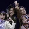 ミュージカル『EDGES-エッジズ-』チームBLUE公演より、(写真左から)増田有華さん、太田基裕さん、矢田悠祐さん、菜々香さん