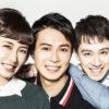 (左から)笹本玲奈さん、平方元基さん、ウエンツ瑛士さん
