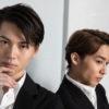 松岡広大さん(右)と山崎大輝さん(左)=撮影・岩村美佳