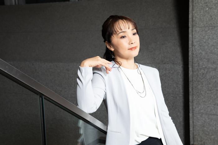 濱田めぐみさん=撮影・岩村美佳