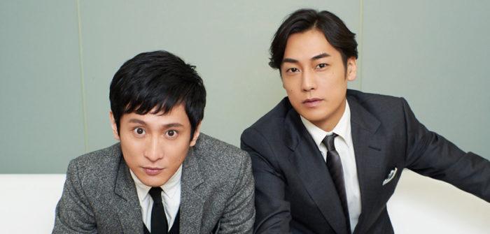 成河さん(左)と福士誠治さん(右)=撮影・NORI
