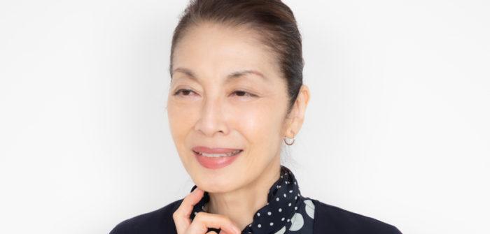 麻実れいさん=撮影・岩村美佳