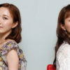 実咲凜音さん(左)と妃海風さん(右)=撮影・岩村美佳