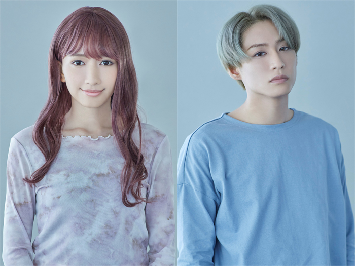A New Musical『ゆびさきと恋々』に出演する豊原江理佳さん(左)と前山剛久さん(右)