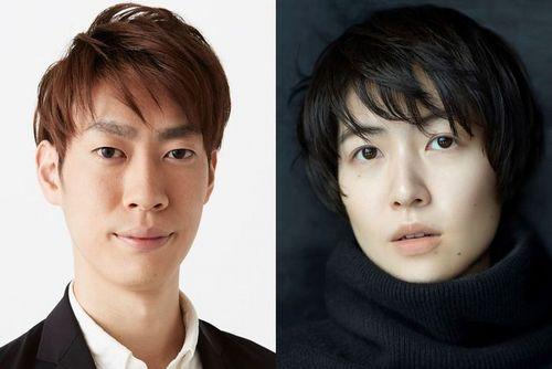 (左)坂東巳之助さん、(右)シム・ウンギョンさん