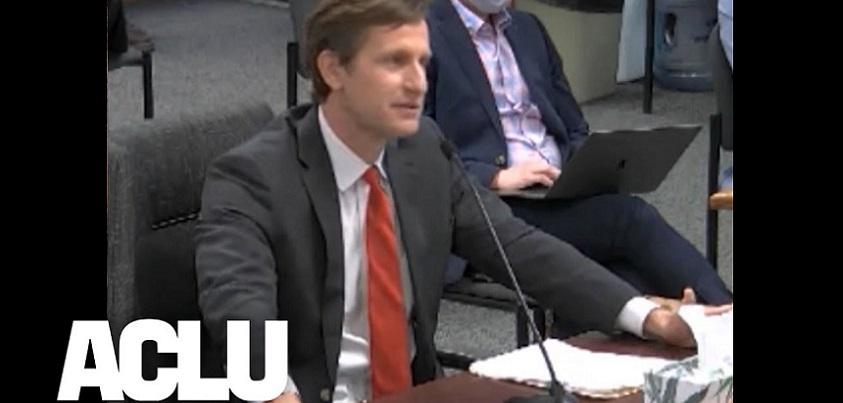 Missouri Dad Testifies Against Trans Youth Athlete Ban   ACLU YouTubeチャンネルより