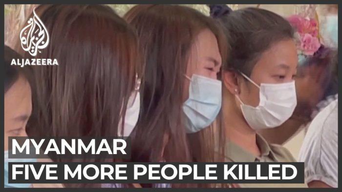 Myanmar death toll edges up to 550 as online crackdown tightens  YouTubecチャンネルAl Jazeera Englishより