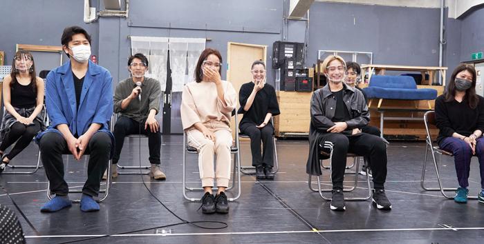 A New Musical『ゆびさきと恋々』囲み取材より=撮影・NORI